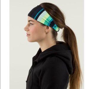 NWT Lululemon reversible Bang Buster Headband
